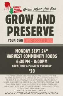 Grow and Preserve