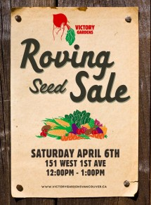 Seed Sale April 6th 2013