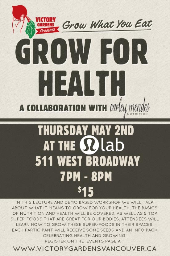 Grow for Health May 02 2013