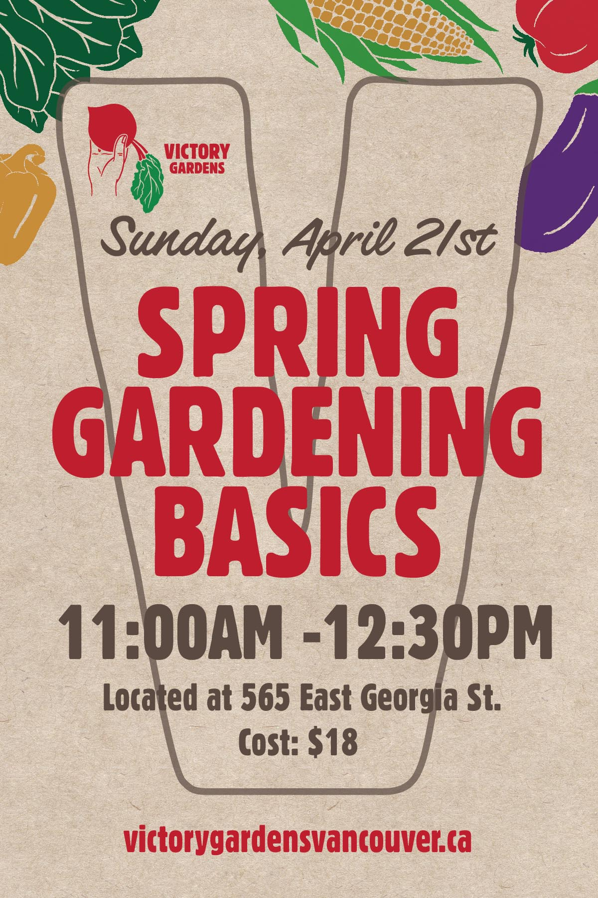 Spring Gardening Basics April 21 13