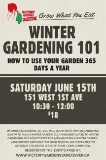 Winter Gardening 101 V1
