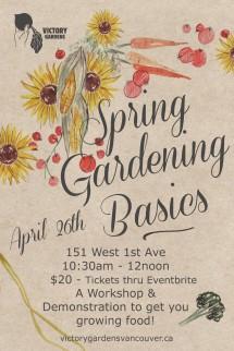 Spring Gardening April 26