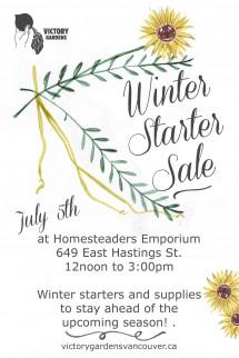 Winter Starter Sale
